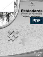Estándares 1-11 ESP-MAT (2011)