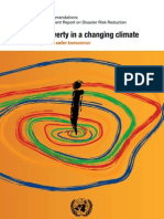Risk and Poverty in a Changing Climate