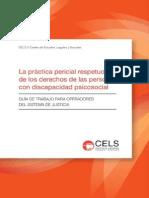 La Practica Pericial respetuosa de los derechos de las personas con discapacidad psicosocial