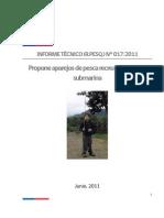 RPESQ 17-2011 Aparejos de Pesca Recreativa III