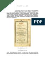 Biblia in Limb a Roman A