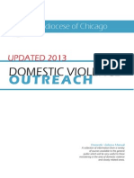 Domestic Violence Outreach Manual 2013