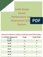 How to calculate cgpa