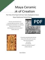 The Maya Ceramic Book of Creation