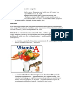 Las Vitaminas Se Agrupan en Dos Categorías