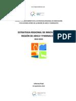 Informe Estrategia Regional de Innovacion - Arica