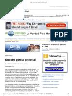 405284Gmail - La Verdad Para Hoy_Nuestra Patria Celestial_Filipenses 3y20