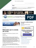 405295Gmail - La Verdad Para Hoy_Motivados Por La Venida de Cristo_Filipenses 3y20