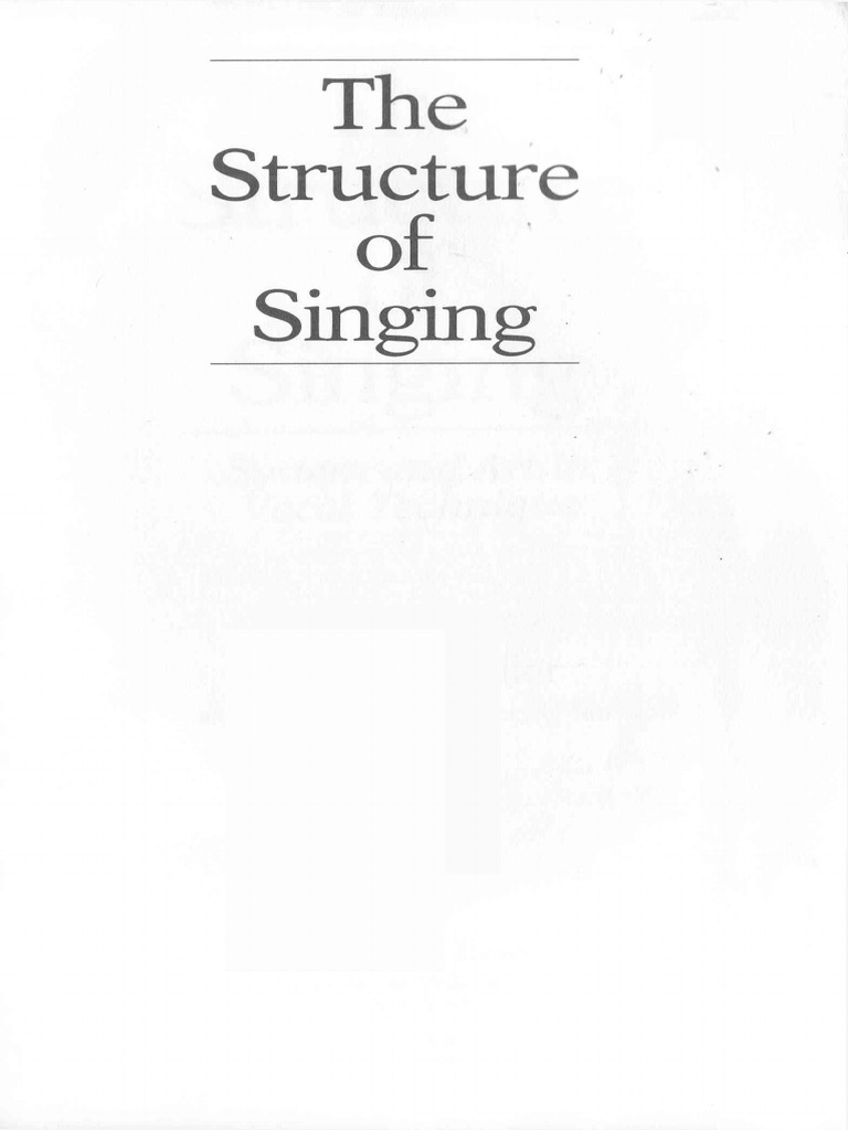 The Structure of Singing | Singing | Larynx