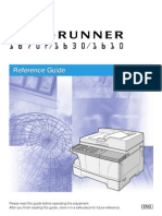Canon IR1670 1630 1610 Reference Guide