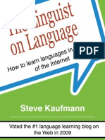 Kaufmann Steve - The Linguist on Language