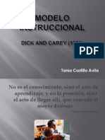Diseño de Dick y Carey