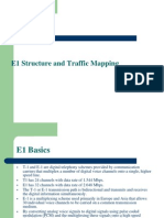 E1 structure and Traffic Mapping.ppt