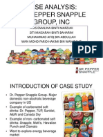 Case - Dr. Pepper Snapple Group, Inc (Edited) as at 16 Mac 2014