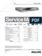 Philips BDP7500S2 (1.1) - Service Manual - EnG