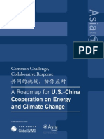 A Roadmap for U.S. _ China Cooperation on Energy and Climate Change