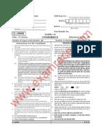 UGC Commerce Paper 2 June 2008