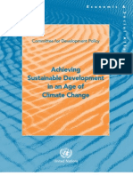 Achieving Sustainable Development in an Age of Climate Change