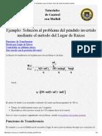 CTM Ejemplo_ Lugar de Raíces control del modelo del péndulo invertido.pdf