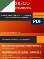 2 - Guias Internacionales Est R y R - E. Tulcanaza - CRIRSCO