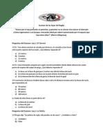 Examen de Las Leyes Del Rugby