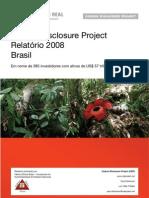 Carbon Disclosure Project Relatório Brasil