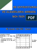 Calculo Albañileria Armada