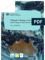 Climate Change 2009 Faster Change and More Serious Risks