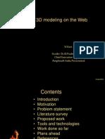 3D on web