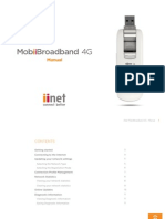 MobiiBroadband 4G Manual