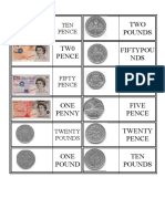 Money Dominoes