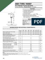 data sheet Diodo 1N400
