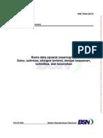 14. SNI 7644-2010 Basis Data Spasial Oseanografi
