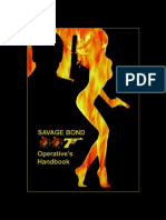Savage Bond 007 - Operative's Handbook