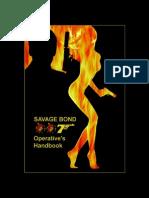 Savage Bond 007 - Operative's Handbook