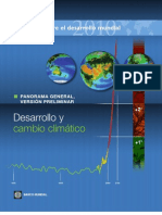Desarollo y Cambio Climatico