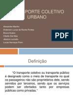 Apresentação Transporte Coletivo - Final