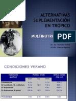 Alternativas Suplementacion Tropico