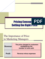 Pricing Objectives