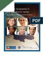 Global Warming_s Six Americas 2009 an Audience Segmentation Analysis