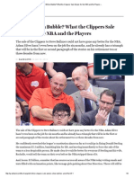 The $2 Billion Bubble_ What the Clippers Sale Means for the NBA and the Players «
