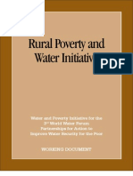 Rural Water Poverty