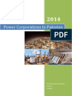Power Corporations In Pakistan 2014