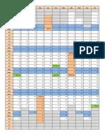 Calendario Base