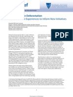 Policy Impacts on Deforestation