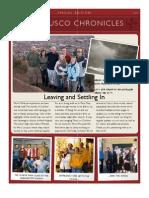 2009 Departure Newsletter
