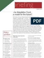 The Adaptation Fund