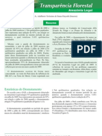 Transparência florestal Amazônia legal 2009