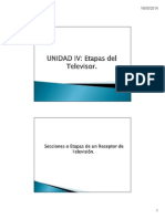 UNIDAD IV.- Etapas Del Televisor