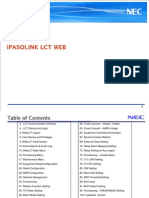 IPasolink Series LCT Training Manual